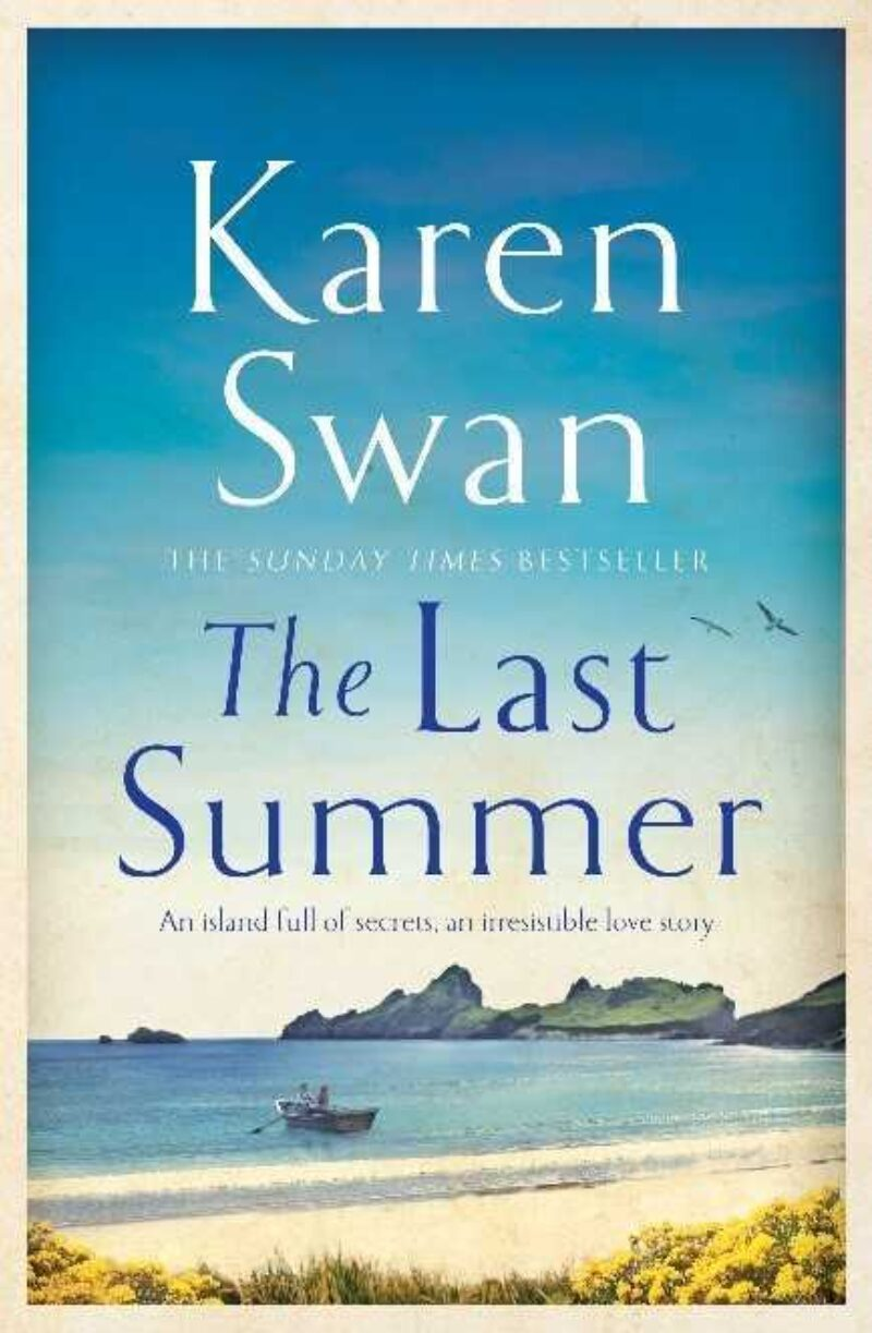 Book cover for 'The Last Summer'