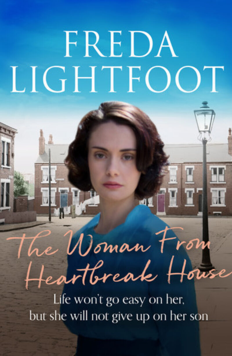 Book cover for 'The Woman From Heartbreak House'