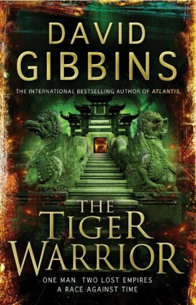 Book cover for 'The Tiger Warrior'