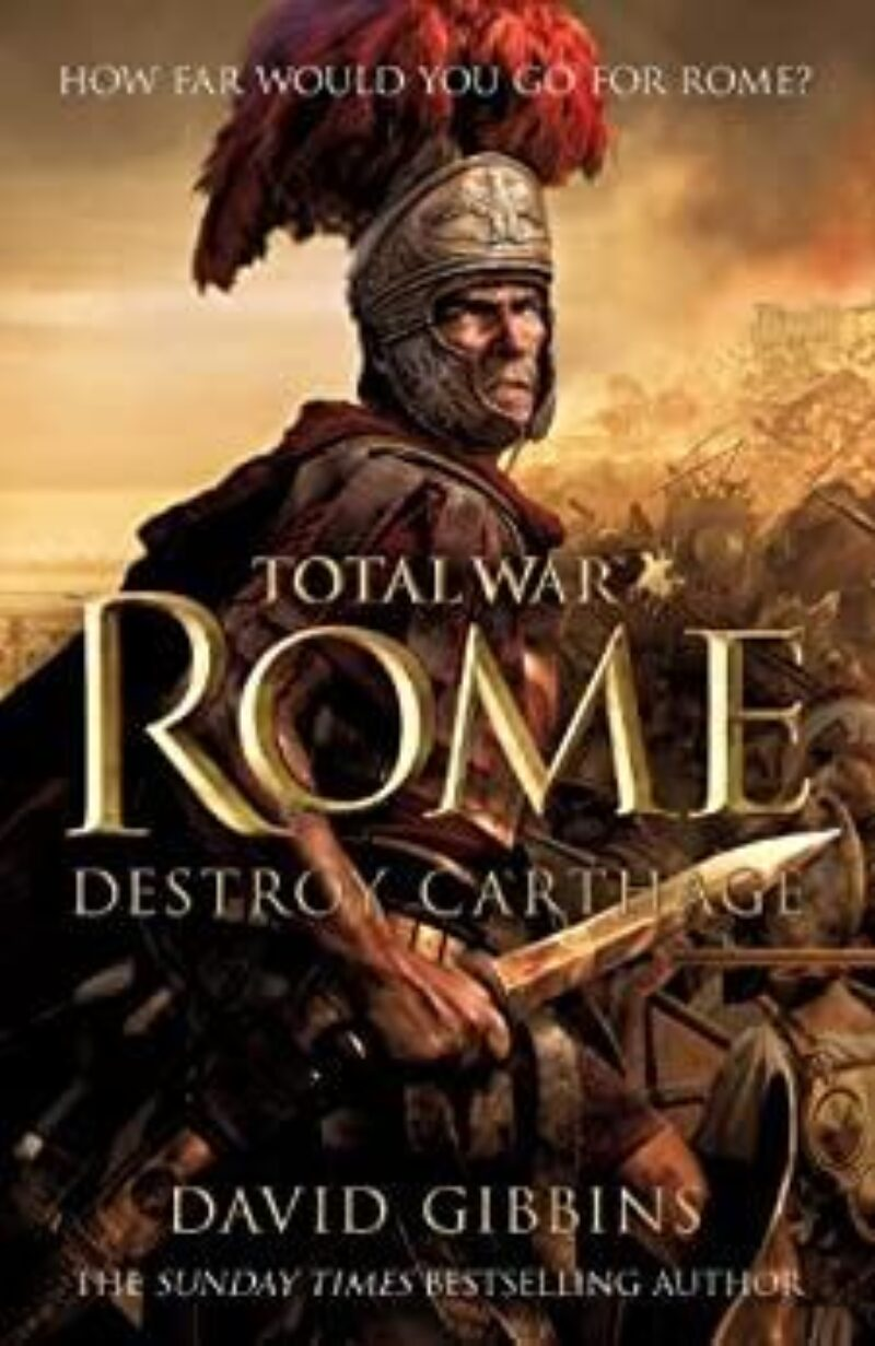 Book cover for 'Total War: Rome'