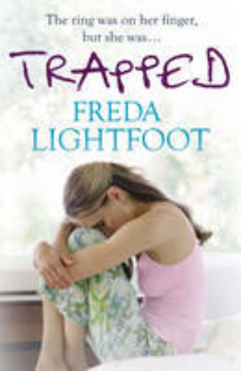 Book cover for 'Trapped'