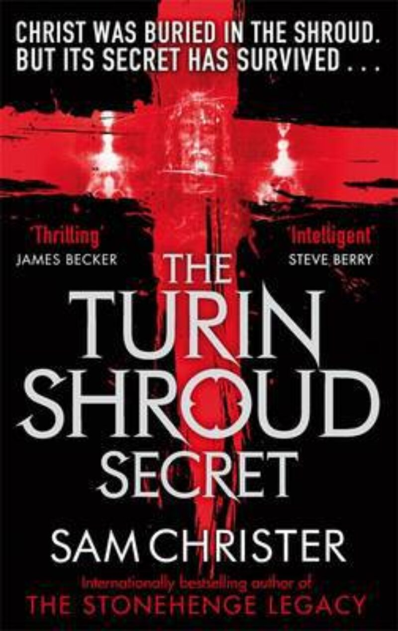 Book cover for 'The Turin Shroud Secret'