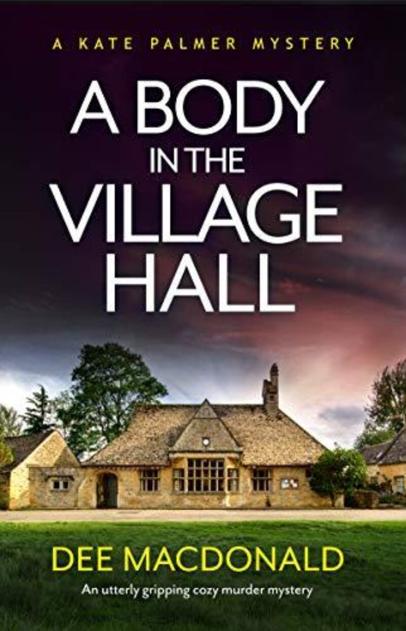 Book cover for 'A Body in the Village Hall'