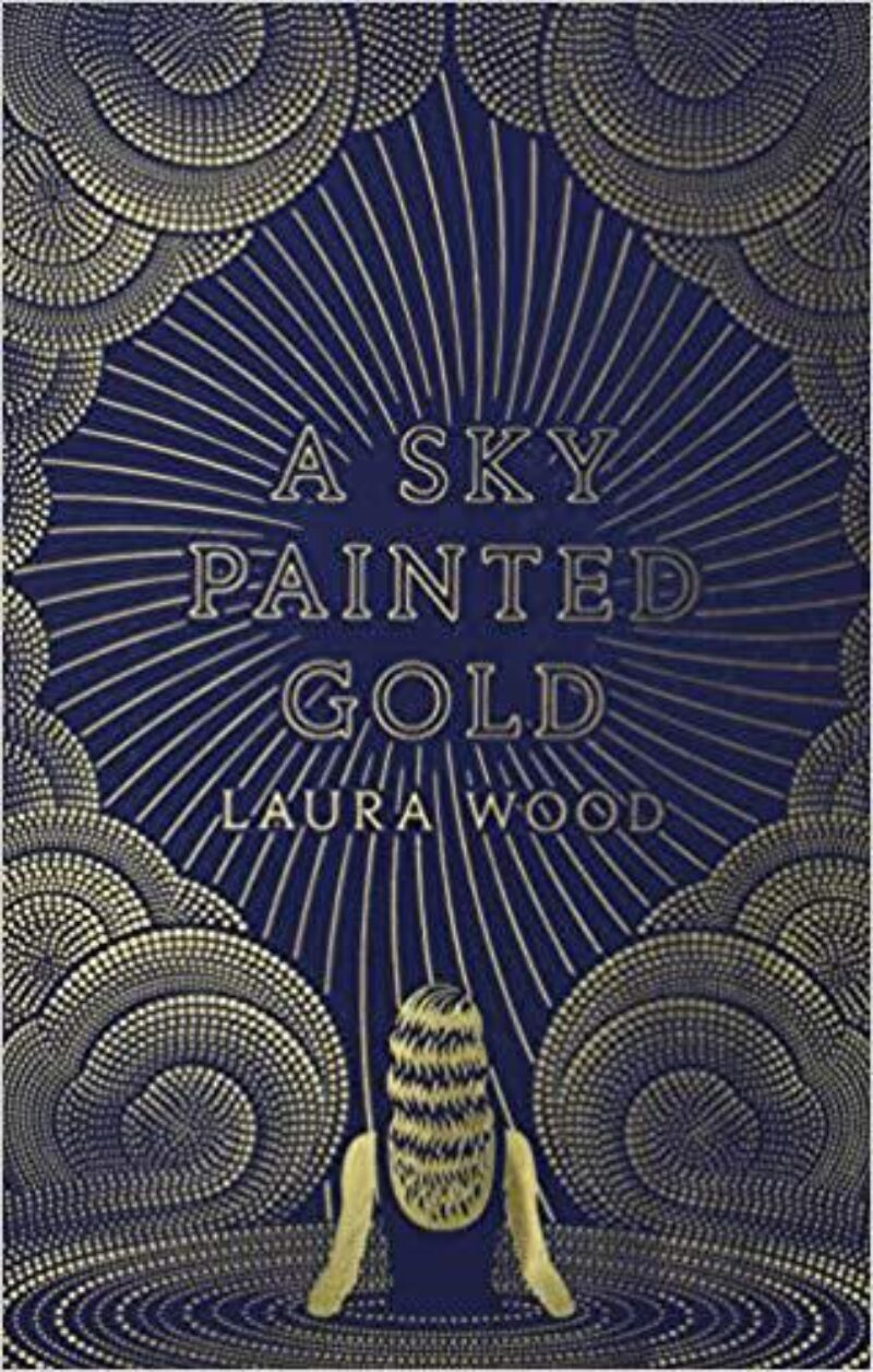 Book cover for 'A Sky Painted Gold'