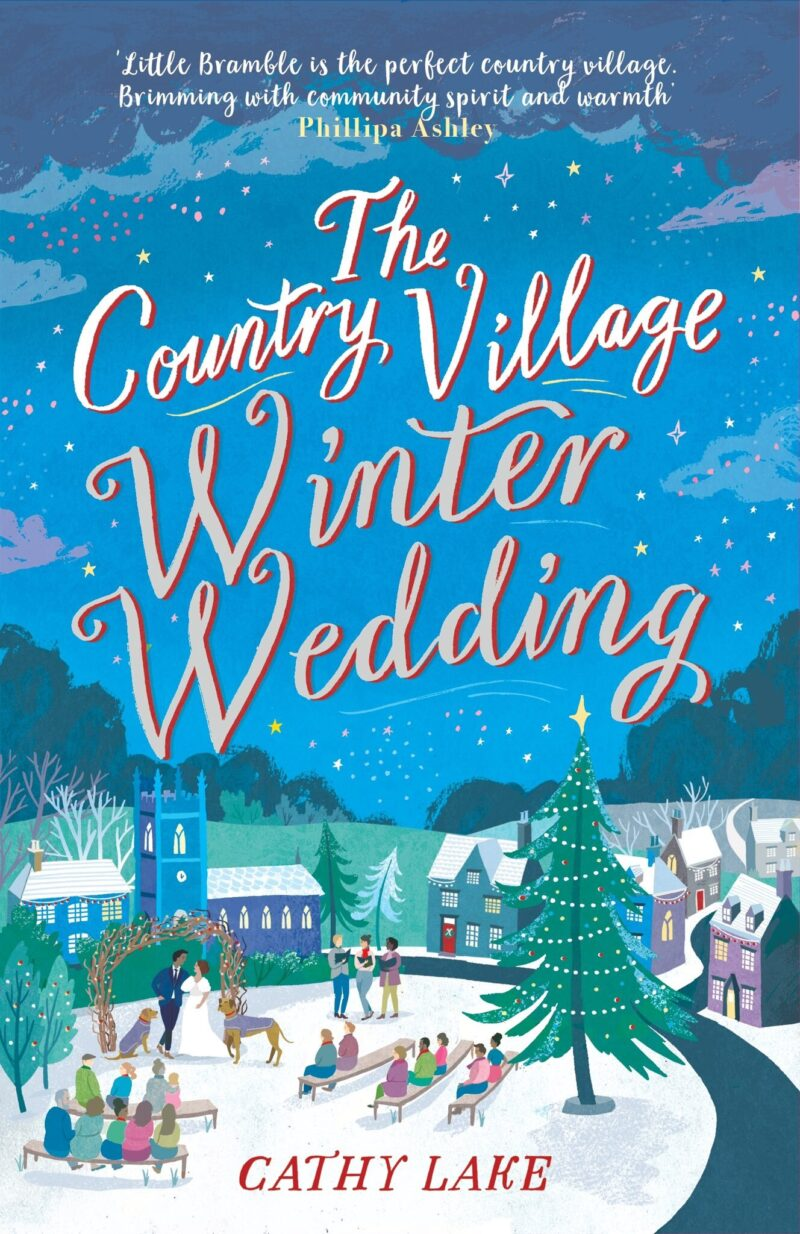 Book cover for 'The Country Village Winter Wedding'