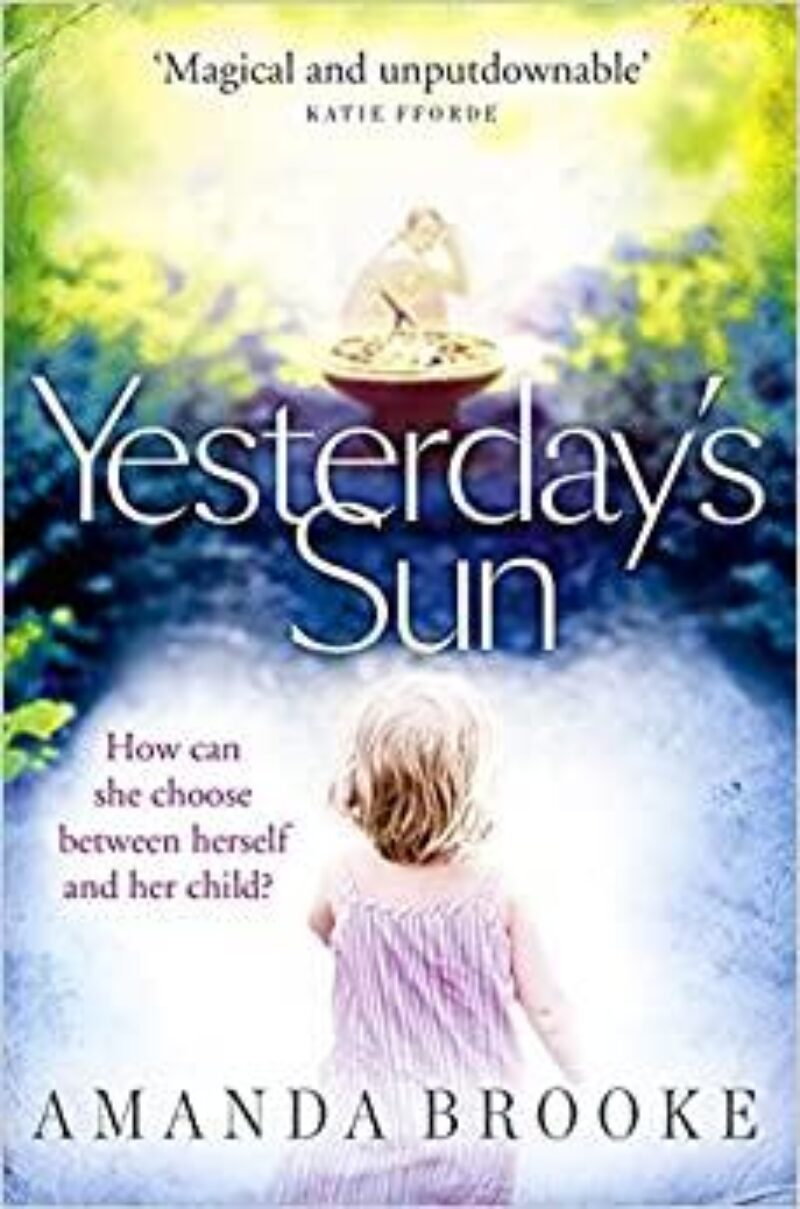 Book cover for 'Yesterday's Sun'